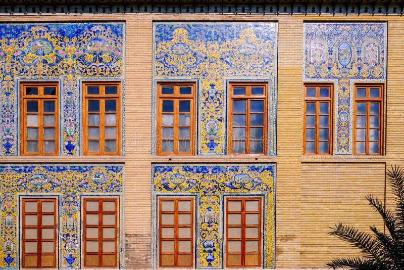 Powierzchowność Golestan pałac Teheran, Iran obraz stock