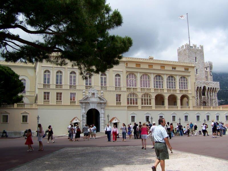 Powierzchowność książe pałac w Monte, Carlo - Monaco fotografia royalty free