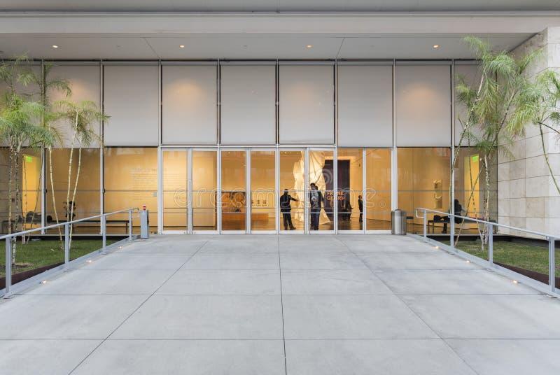 Powierzchowność Los Angeles okręgu administracyjnego muzeum sztuki obrazy stock