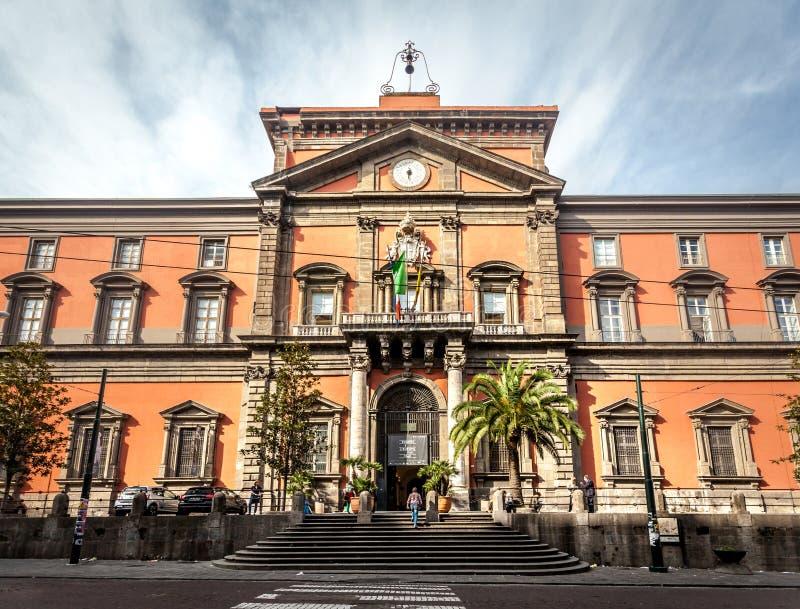 Powierzchowność Museo Archeologico Nazionale fotografia stock