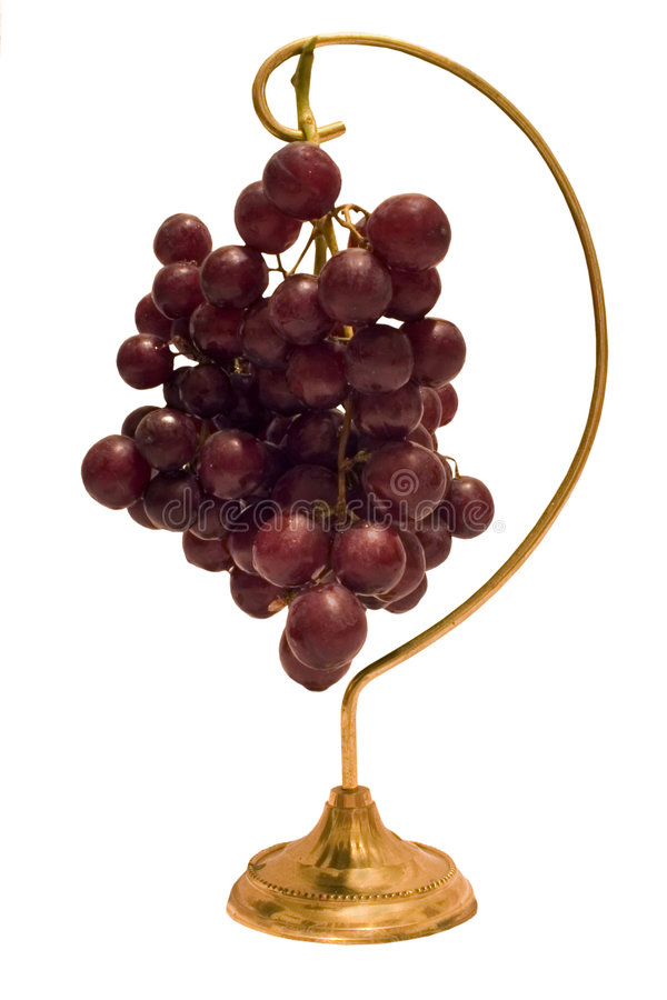 powiesić winogron. zdjęcia royalty free