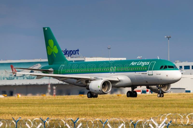 A320 powietrza lingus obrazy stock