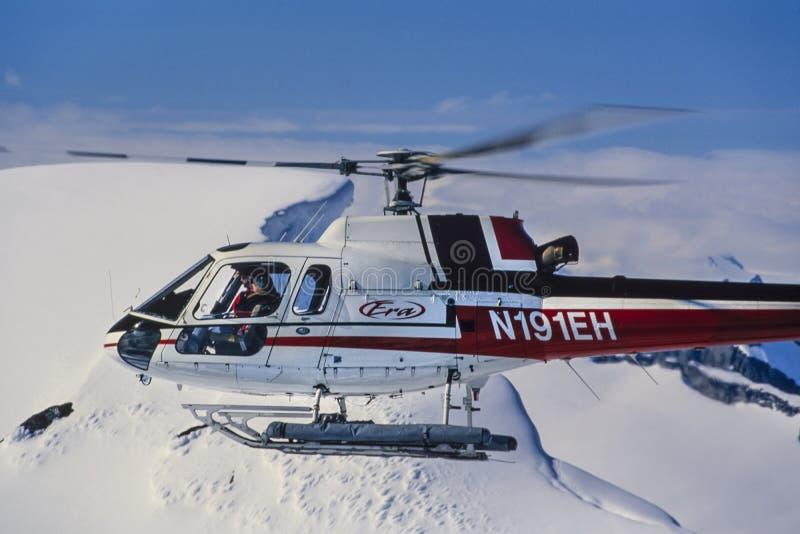 Powietrzna fotografia Alaska zdjęcia royalty free