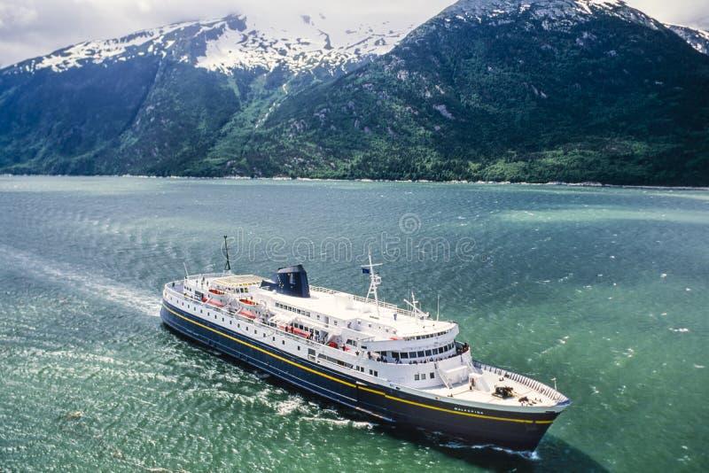 Powietrzna fotografia Alaska fotografia royalty free