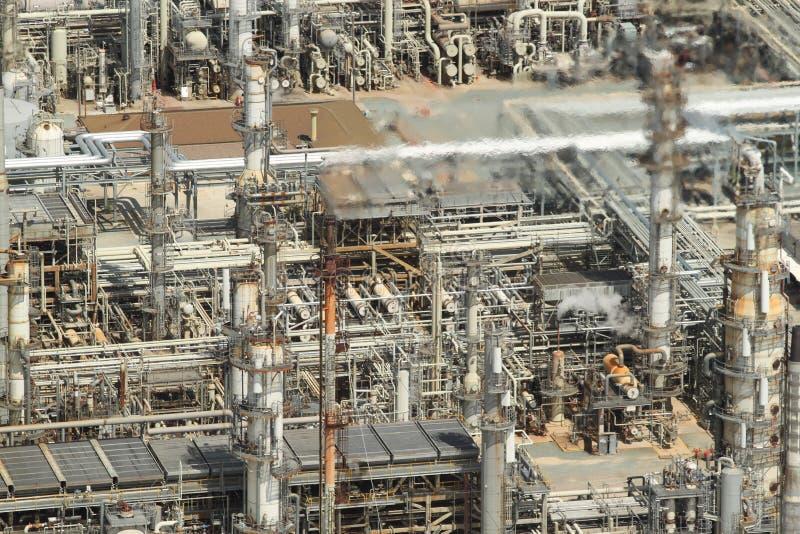 powietrzna rafineria ropy naftowej obrazy royalty free