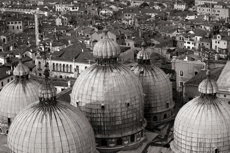 powietrznego pięknego miasta stary dachowy Venice widok obraz stock