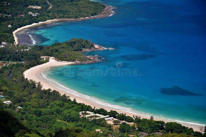 Powietrzni Seychelles obraz stock