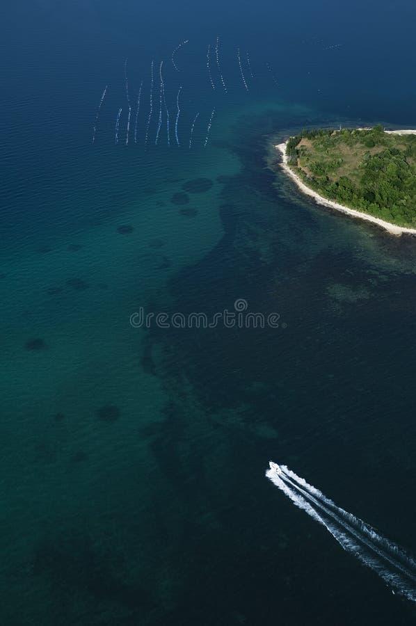 powietrzny Croatia istria widok vrsar zdjęcie royalty free