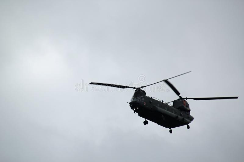 Powietrzny helikopter obraz royalty free