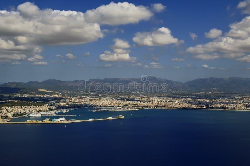 powietrzny Mallorca fotografia royalty free