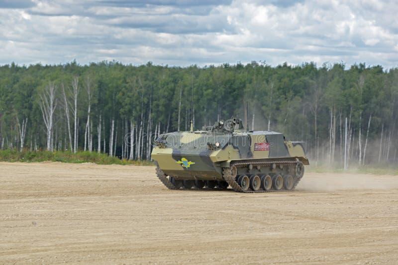 Powietrzny opancerzony transporter BTR-MDM Rakushka obraz royalty free