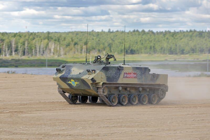Powietrzny opancerzony transporter BTR-MDM Rakushka obrazy stock