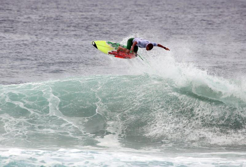 powietrzny surfingowiec fotografia stock