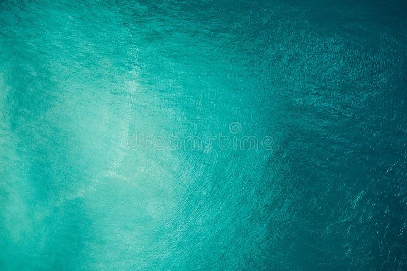 Powietrzny widok na ocean fotografia stock