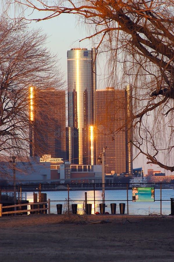 powikłany Detroit rencen fotografia royalty free