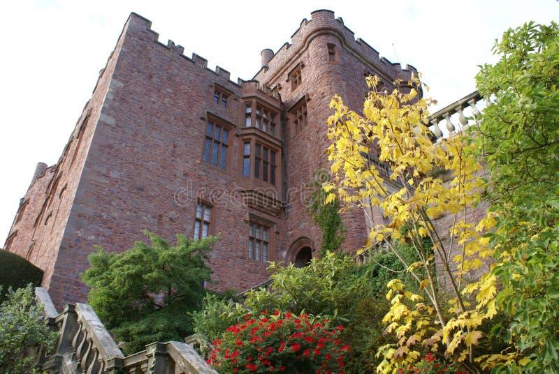 Powis城堡在英国 图库摄影