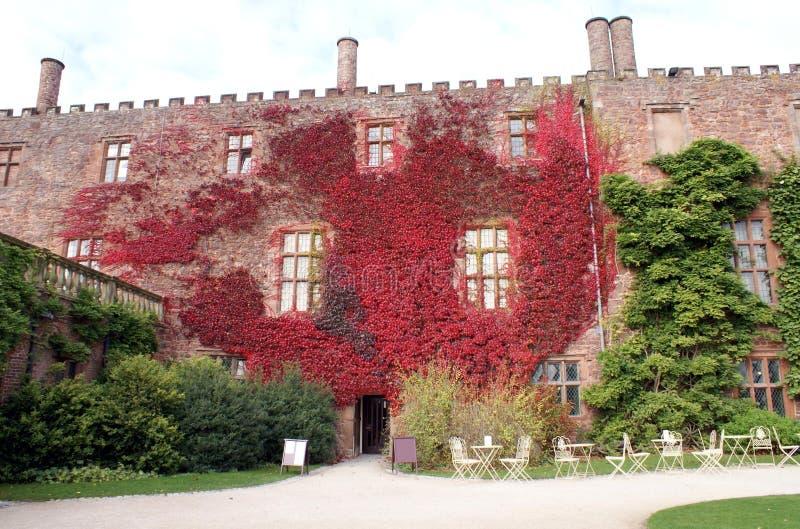 Powis城堡在英国 免版税库存图片
