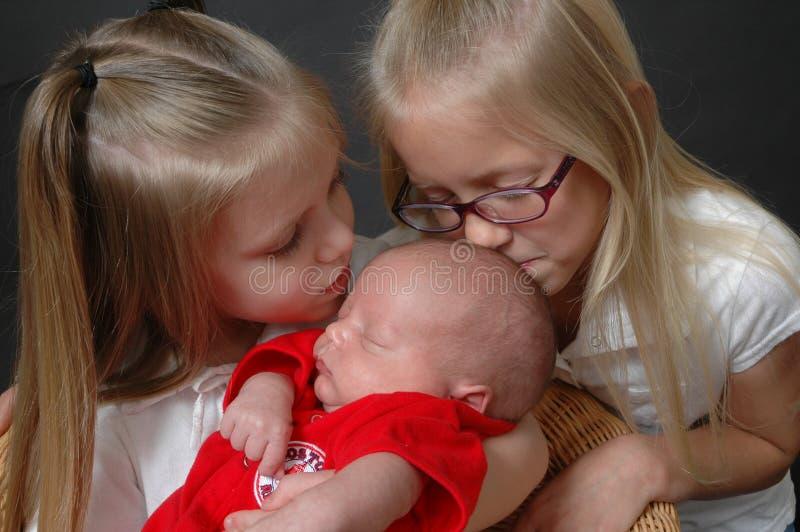 powitać rodzinę fotografia stock