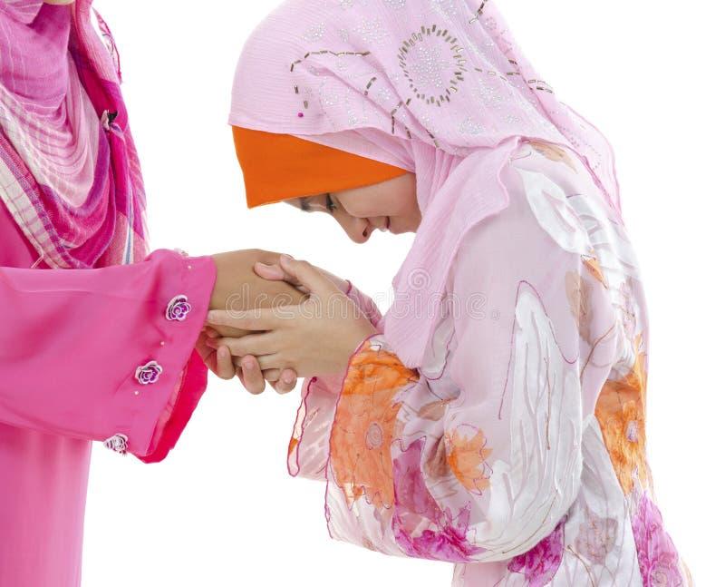 powitań muslim obrazy royalty free