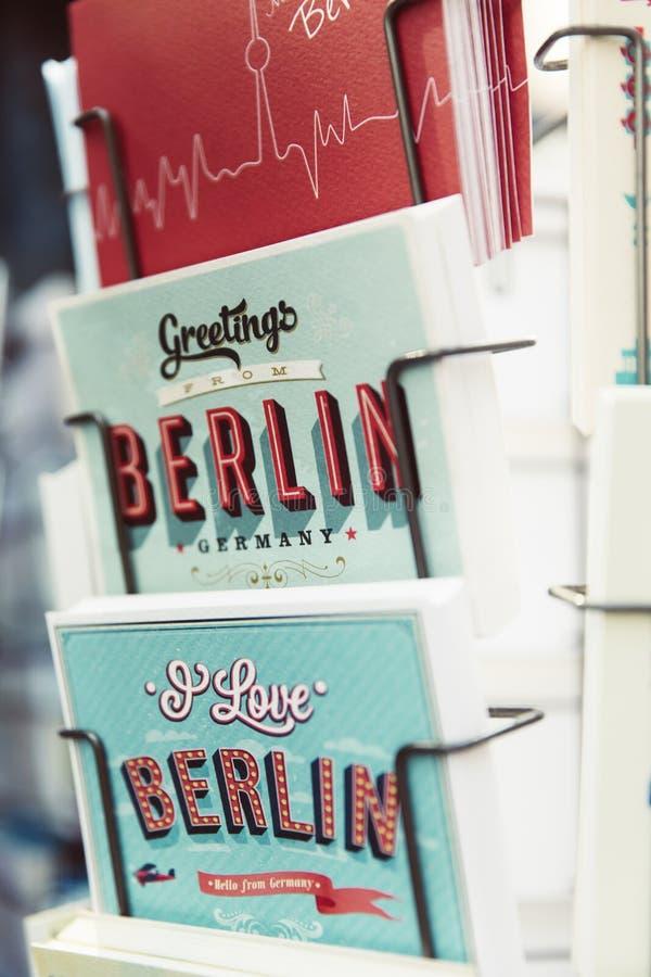 Powitania Berlin Niemcy obrazy royalty free