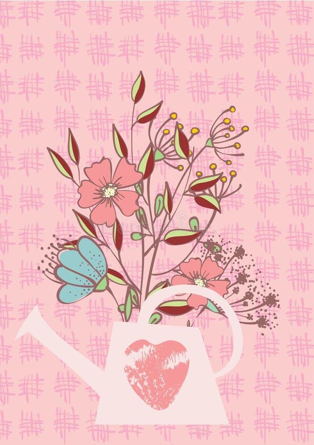 powitania karciany valentine s ilustracja wektor