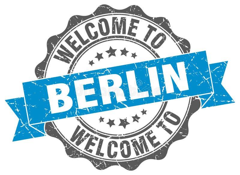 Powitanie Berlińska foka royalty ilustracja