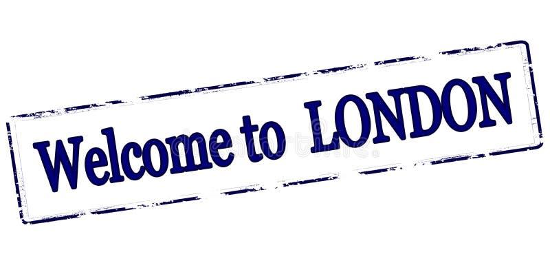 Powitanie Londyn royalty ilustracja