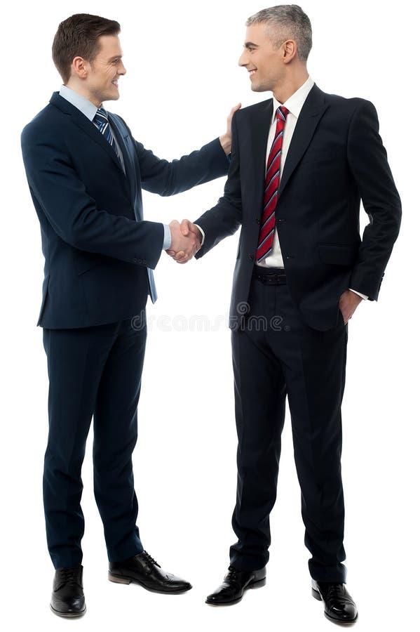 Powitanie mój biuro! obraz stock