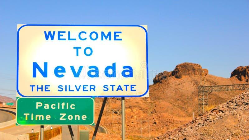 Powitanie Nevada! zdjęcie stock