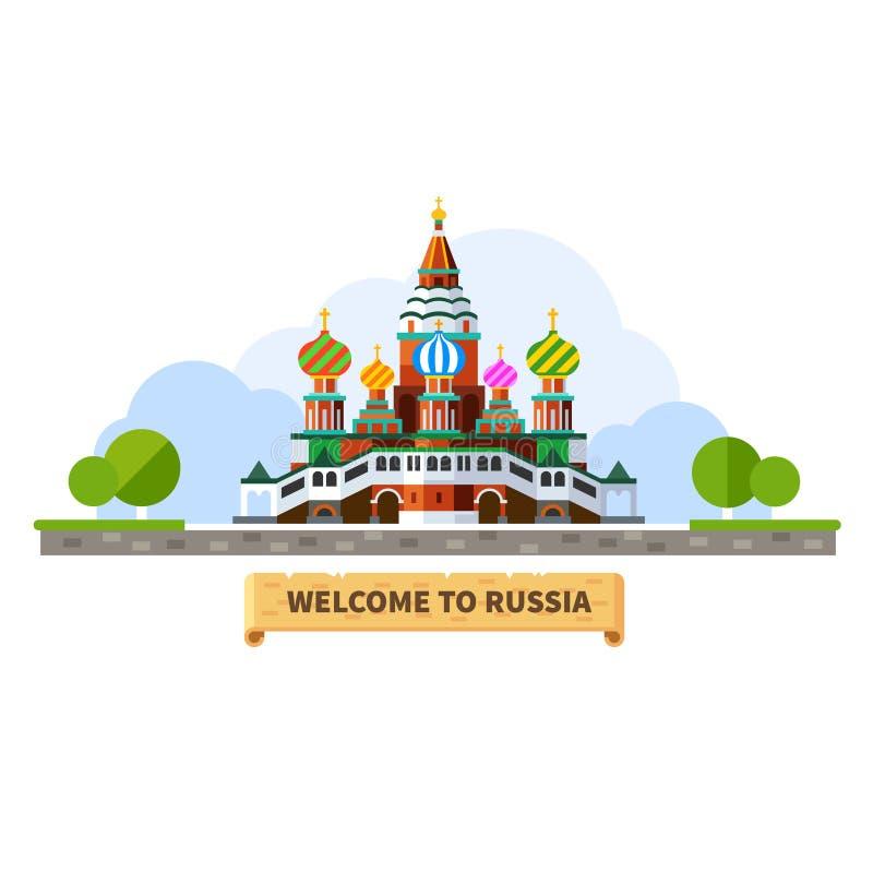 Powitanie Rosja royalty ilustracja