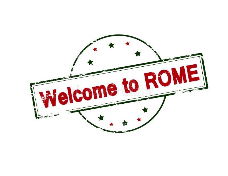Powitanie Rzym ilustracji