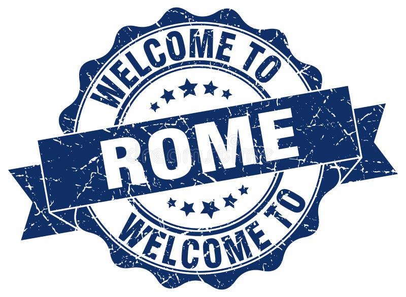 powitanie Rzym foka royalty ilustracja