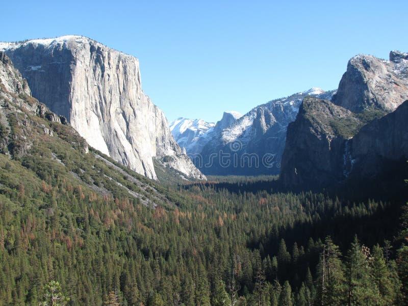 Powitanie Yosemite fotografia stock
