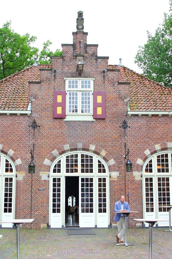 Powozowego domu Nyenrode Biznesowy uniwersytet, holandie fotografia royalty free