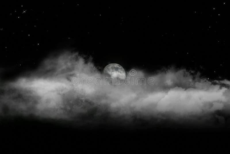 Powstająca Księżyc Fotografia Royalty Free