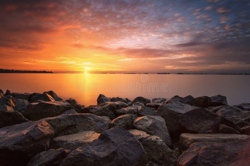Powstający Słońce zdjęcia royalty free