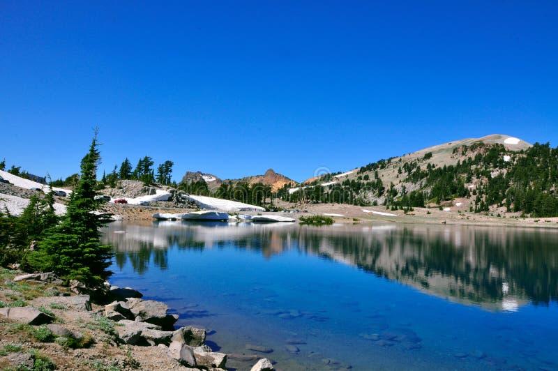 Powulkaniczny Lassen Park Narodowy obrazy royalty free
