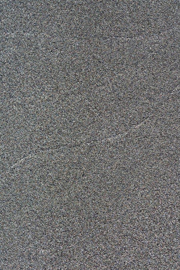 Powulkaniczny piasek powierzchni czerni kolor Szczeg??owy natury t?o lub wz?r tekstura fotografia stock