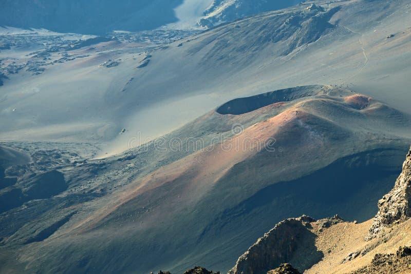 Powulkaniczny rożek, Haleakala park narodowy obrazy stock