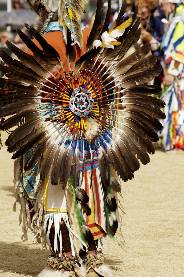 Powwow 5 stock afbeelding