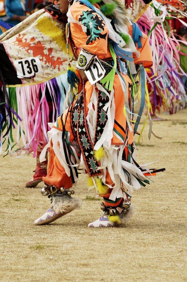 Powwow dancers 10 royalty free stock photo