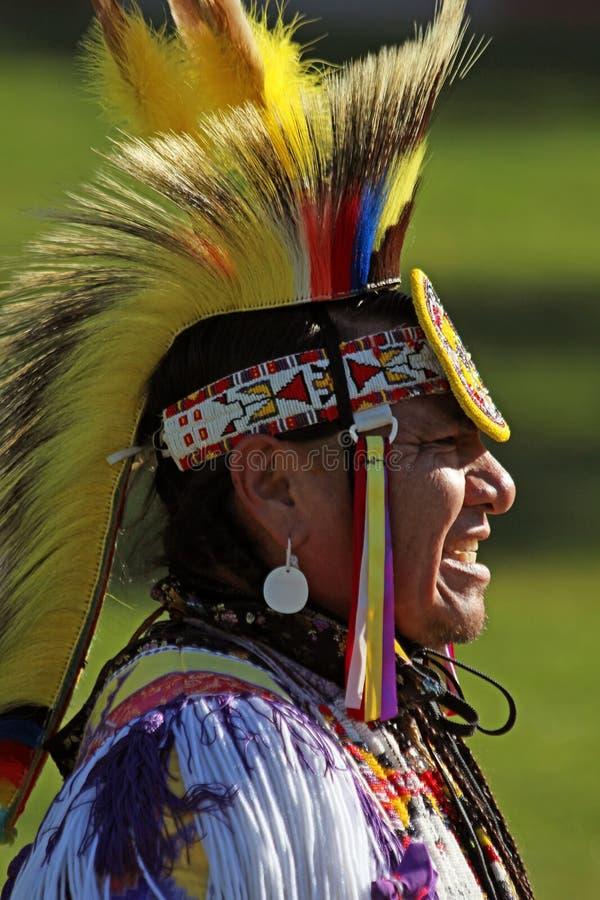 Powwow del nativo americano foto de archivo libre de regalías