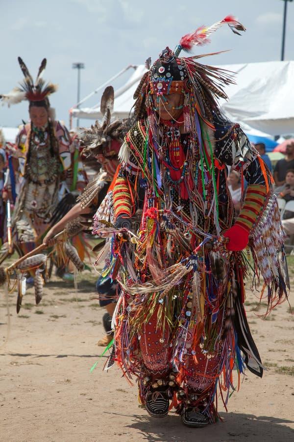 Powwow Inheems Amerikaans Festival stock foto