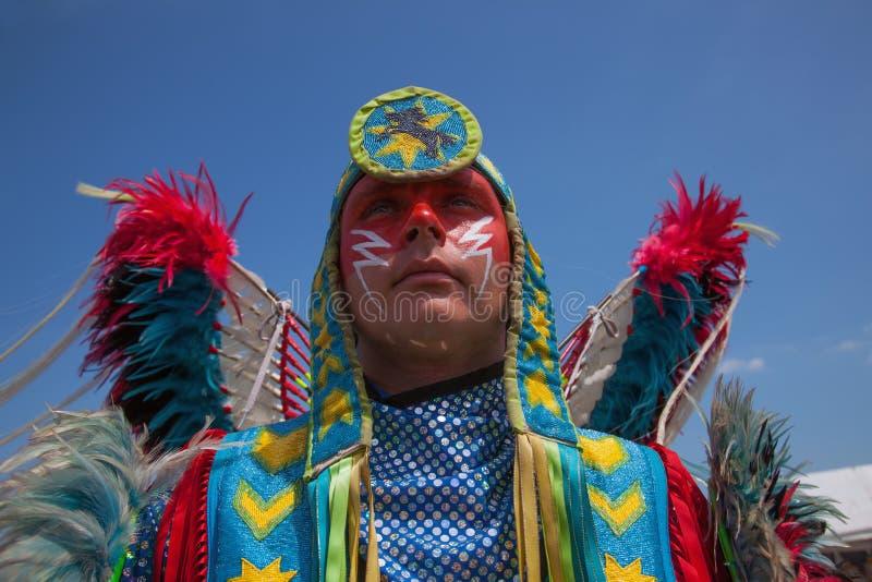 Powwow Inheems Amerikaans Festival royalty-vrije stock foto