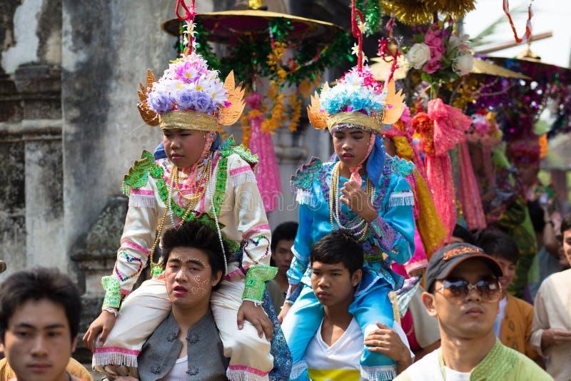 Poy Sang Long festival arkivbild