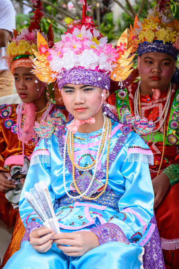 Download Poy Sang Long festival editorial stock image. Image of long - 39513504