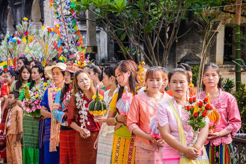 Download Poy Sang Long festival editorial image. Image of asia - 39513440