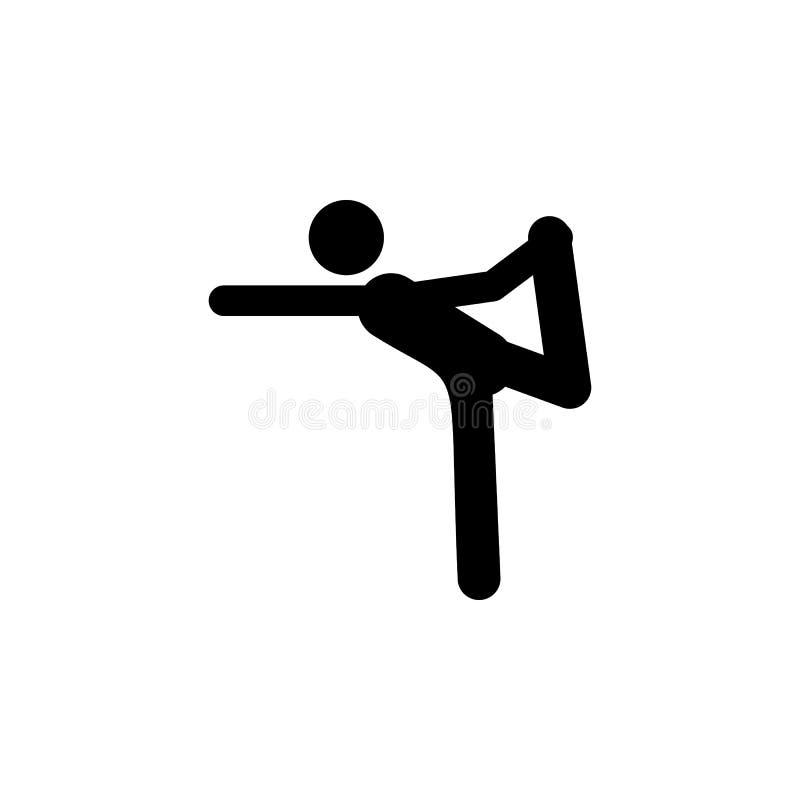 poza, mężczyzna ikona Element joga ikony Premii ilości graficznego projekta ikona Znaki i symbol inkasowa ikona dla stron interne royalty ilustracja