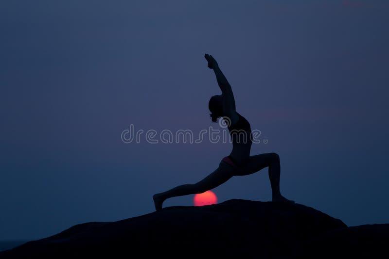 Poza od joga zdjęcie royalty free