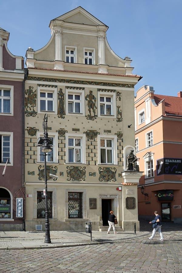 POZAN, POLAND/EUROPE - 9月16日:Henryka Sienkiew博物馆  免版税库存照片